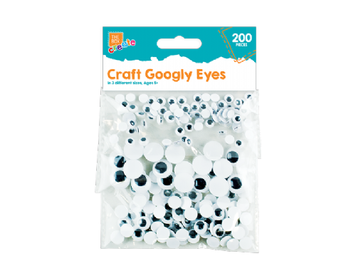 Craft Googly Eyes - 200 Pack